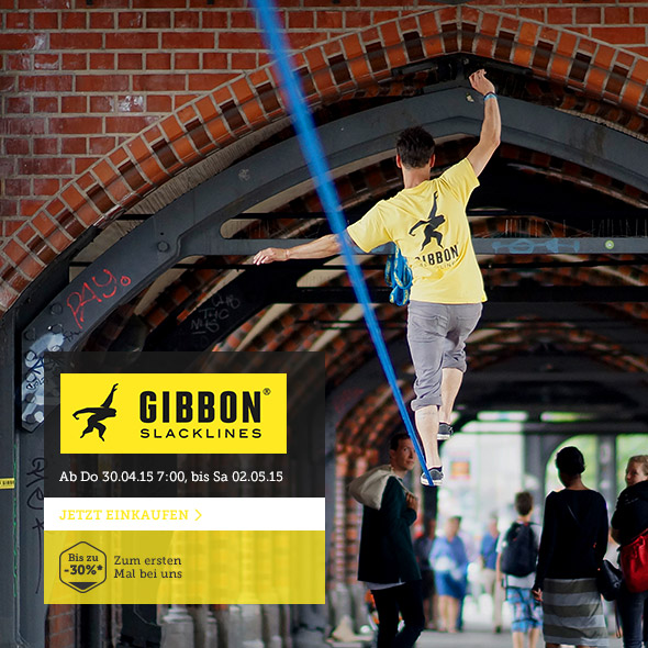 Gibbon - Equipment fürs Slacklining