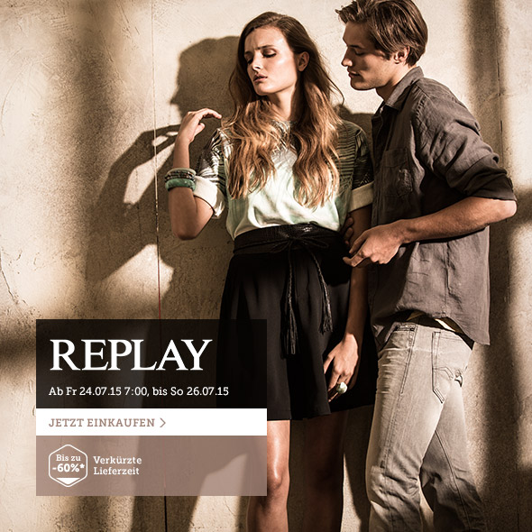 Replay - Denim-Fashion & Accessoires für Sie & Ihn