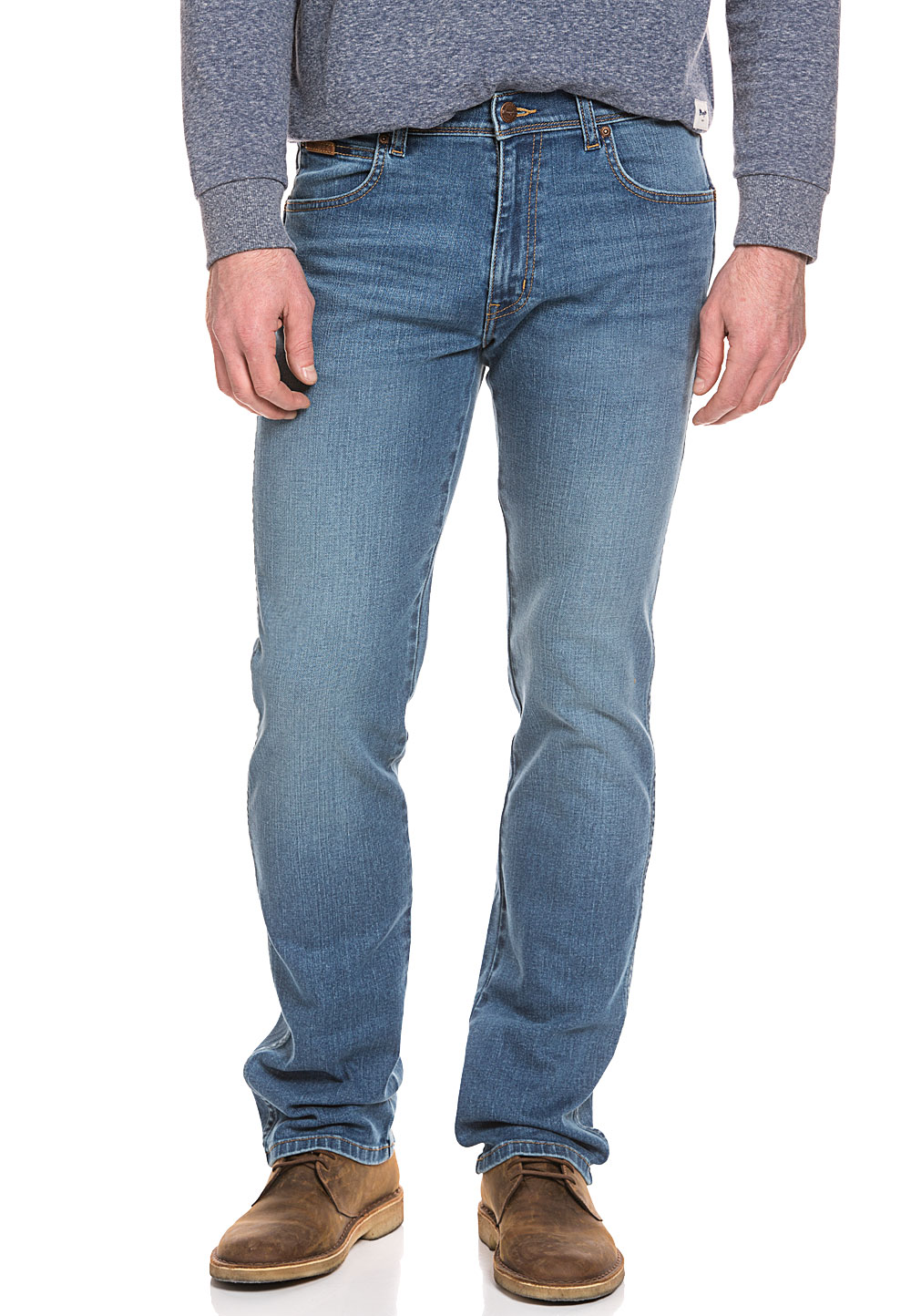 wrangler stretch jeans herren hose denim arizona regular straight fit ebay. Black Bedroom Furniture Sets. Home Design Ideas