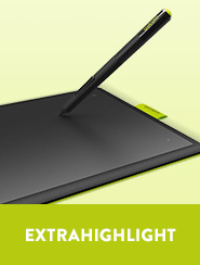 Extrahighlight: Wacom