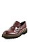 19V69 - Slipper, Leder, bordeaux