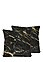 REALLY NICE THINGS - Kissen Black And Gold, L45 x B45 cm
