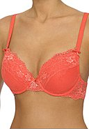 LINGADORE - Bügel-BH Daily Lace Unit-Fit, wattiert, koralle