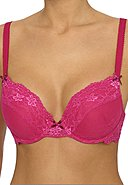 LINGADORE - Bügel-BH Daily Lace Unit-Fit, wattiert, fuchsia