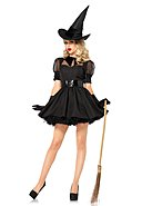 LEG AVENUE - Kostüm-Set Bewitching Witch, 3-teilig