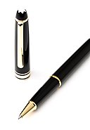 MONTBLANC - Rollerball Meisterstück Gold-Coated Classique