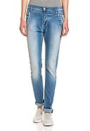 REPLAY - Stretch-Jeans Denice, Crotch Fit