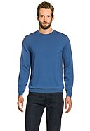 HUGO BOSS - Feinstrickpullover Botto, Wolle, Rundhals