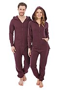 ZIPUPS - Overall All Color, Kapuze, maroon
