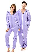 ZIPUPS - Overall Clean Cut, Kapuze, lilac