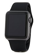 APPLE - Apple Watch Series 1, 38 mm, space grey