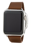 APPLE - Apple Watch Series 1, Gr. S, 38 mm, braun