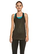BROOKS RUNNING - Running-Tank-Top Pick-Up, Rundhals