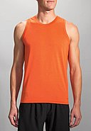BROOKS RUNNING - Muscle-Shirt Distance, Rundhals