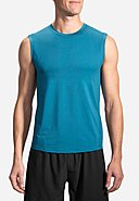 BROOKS RUNNING - Running-Shirt Steady, ärmellos, Rundhals
