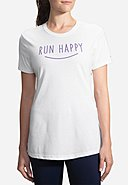 BROOKS RUNNING - Running-Shirt Happy Smile, Kurzarm, Rundhals