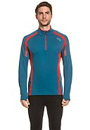 GORE RUNNING WEAR - Running-Shirt Air Zip, Langarm, Stehkragen