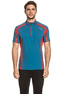 GORE RUNNING WEAR - Running-Shirt Air Zip, Kurzarm, Stehkragen