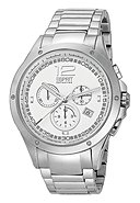 ESPRIT COLLECTION - Chronograph, Edelstahlarmband