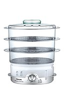 TEFAL - Dampfgarer Ultracompact VC1006, 900 W