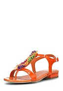 APEPAZZA - Sandalen Carya, Leder, orange