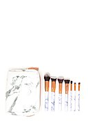 ZOE AYLA - Make-up-Brush-Set Marble Effect, 7-teilig