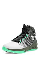 UNDER ARMOUR - Basketball-Schuhe Clutch Fit 3, schwarz/weiß