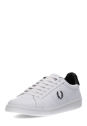 FRED PERRY - Sneaker B721 Leather, Leder, weiß/schwarz