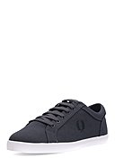 FRED PERRY - Sneaker Baseline Canvas, schwarz