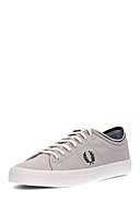 FRED PERRY - Sneaker Kendrick Tiffed Cuff Canvas, grau