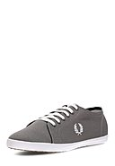 FRED PERRY - Sneaker Kingston Two Tone Nylon, dunkelgrau