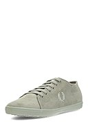 FRED PERRY - Sneaker Kingston Microfiber, hellgrün