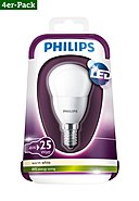 PHILIPS - LED-Lampe, 4er-Pack, 4W, A+ (von A++ bis E)