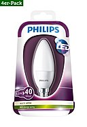 PHILIPS - LED-Lampe, 4er-Pack, 5,5W, A+ (von A++ bis E)