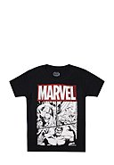 MARVEL - T-Shirt Character Grid, Rundhals