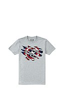 MARVEL - T-Shirt Captain America Torn, Rundhals