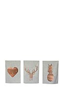 REALLY NICE THINGS - Küchenhandtuch Copper, 3er-Pack