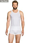HUGO BOSS - Muscle-Shirt, 2er-Pack, Rundhals, Slim Fit