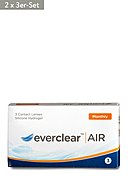 EVERCLEAR - Monatslinsen-Set AIR, 2x 3 Stk