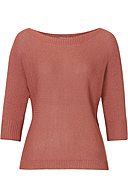 BETTY & CO - Strickpullover, Dreiviertel-Arm, U-Boot-Ausschnitt