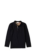 BURBERRY - Polo-Longsleeve