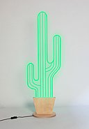 REALLY NICE THINGS - Stehleuchte Neon Cactus L, B17 x H51 cm