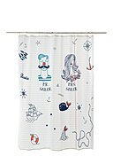 REALLY NICE THINGS - Duschvorhang Mr and Mrs Sailor, B180 x H200 cm