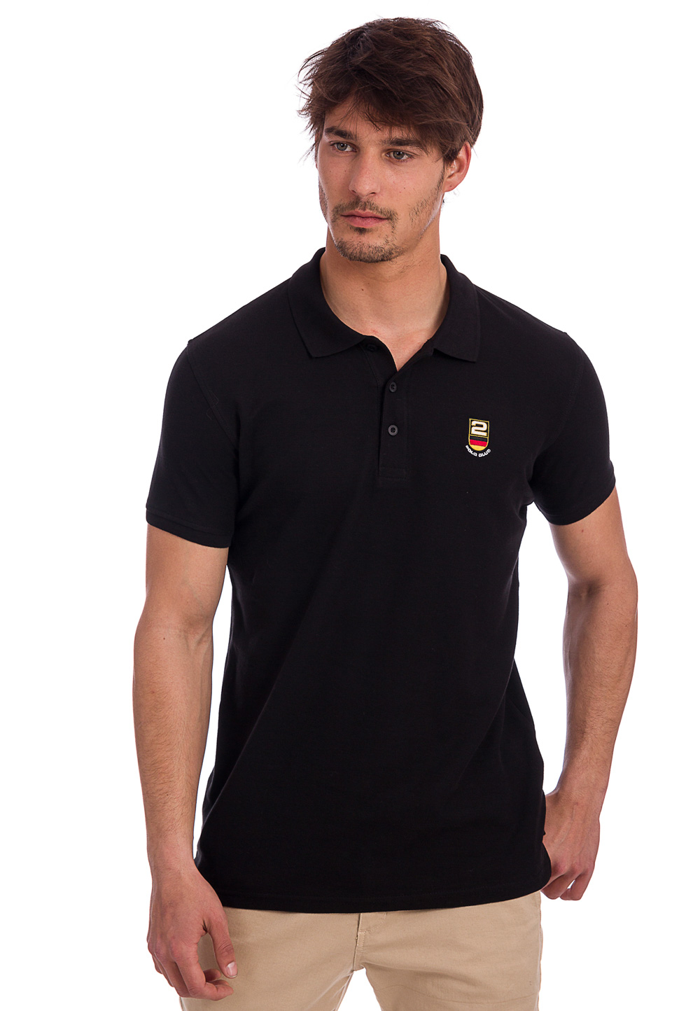 Polo Club Polo-Shirt Sport Flag Germany, Kurzar...