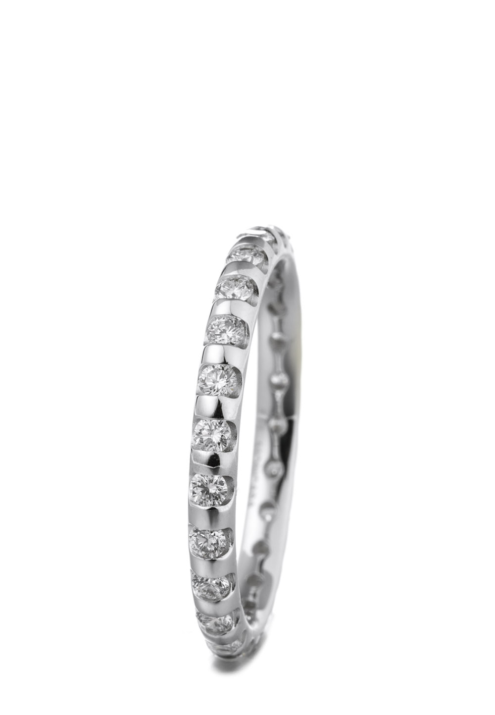 Pure Diamonds Ring, 585 Weißgold, Diamant silber