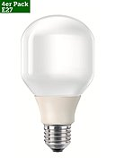PHILIPS - Energiesparlampe Softone, 4er-Pack, 20W, A