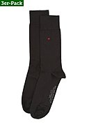 NELOTI - Socken New York, 3er-Pack, schwarz