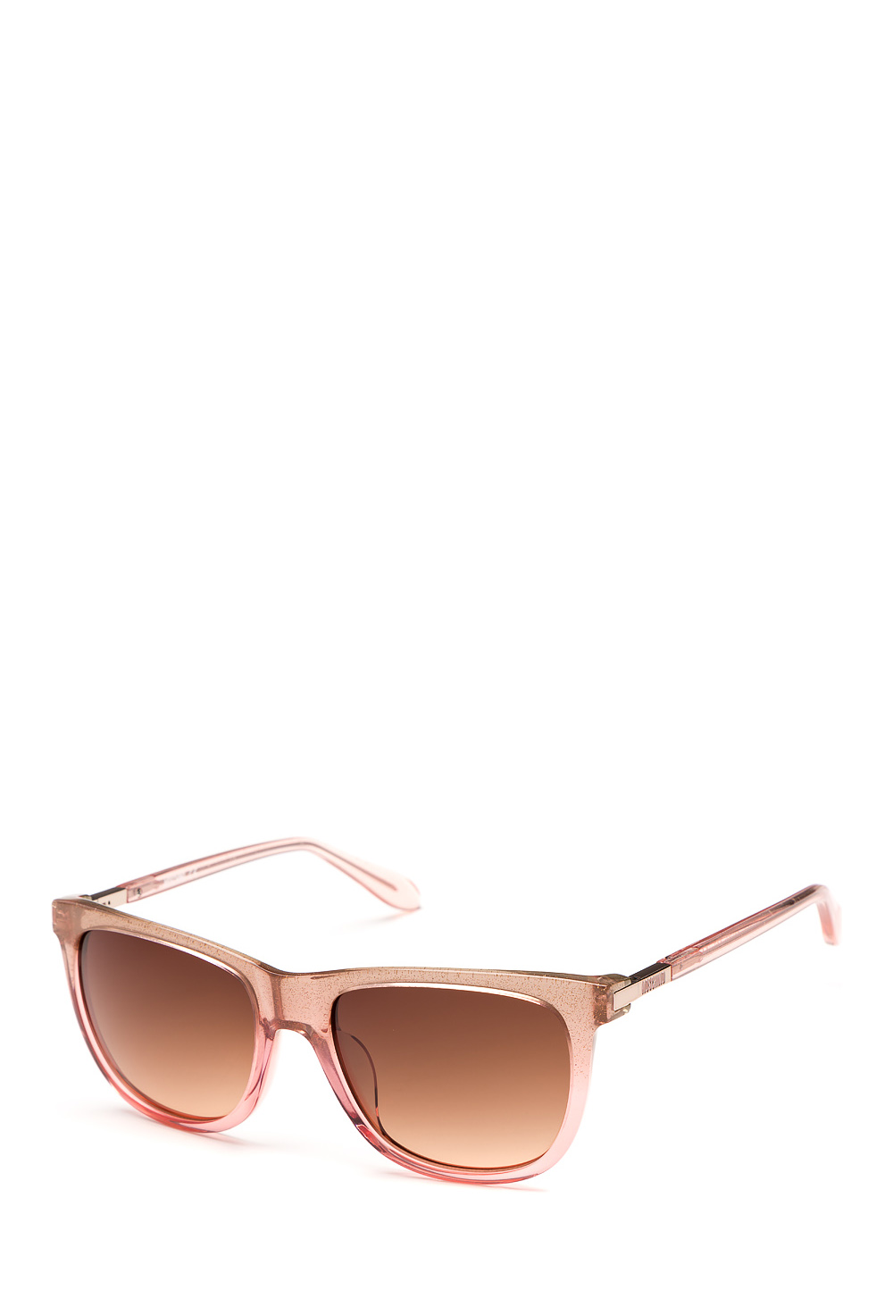 Sonnenbrille, UV 400, rosa/transparent