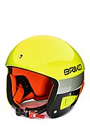 BRIKO - Skihelm VULCANO FIS 6.8, gelb/orange