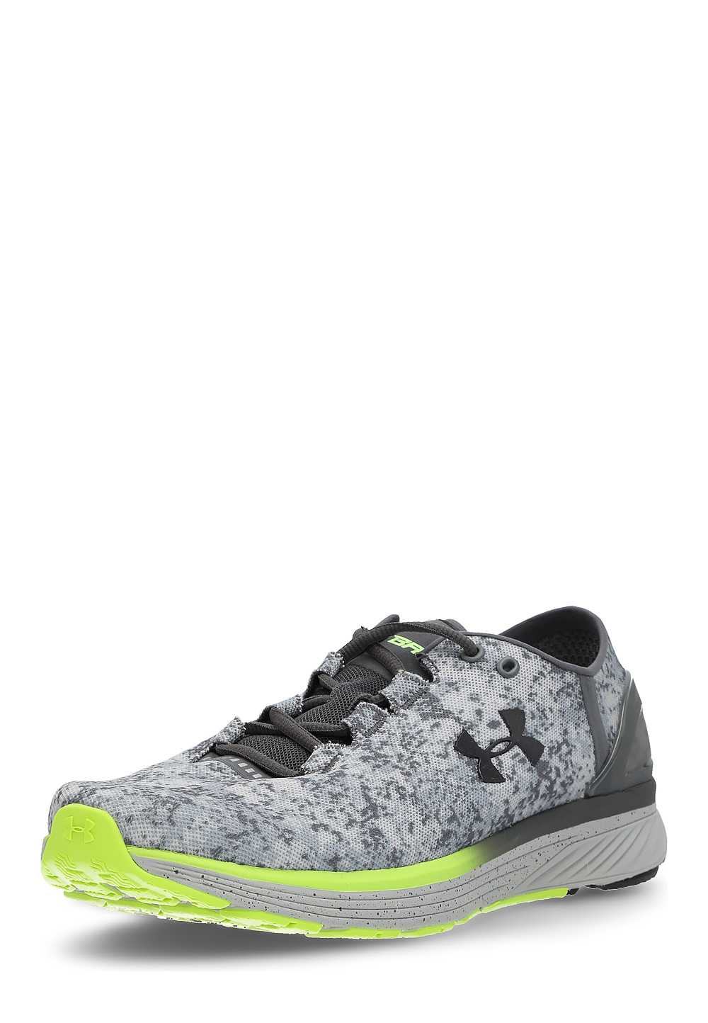 Under Armour Laufschuhe Charged Bandit 3 Digi, grau/neongelb | Schuhe | Grau | Under Armour